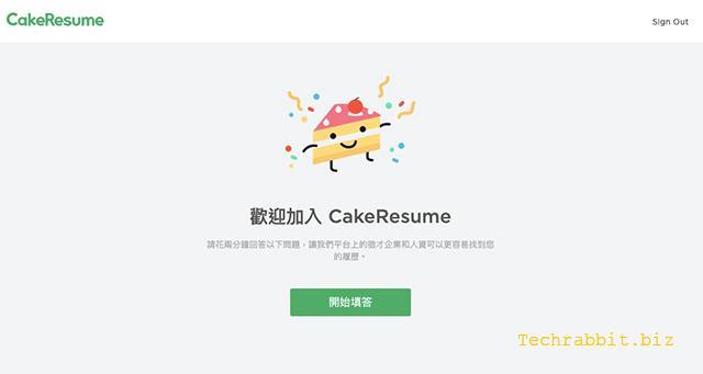 CakeResume
