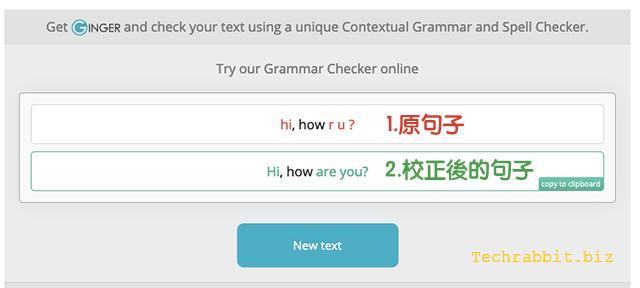 英文文法檢查