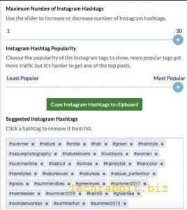 IG Hashtag