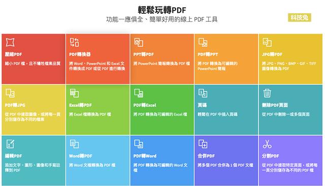 PDF 轉 Word