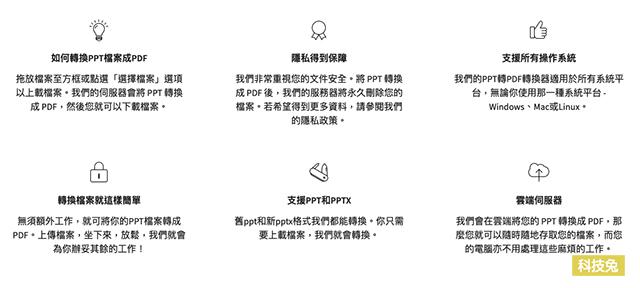 PPT 轉 PDF