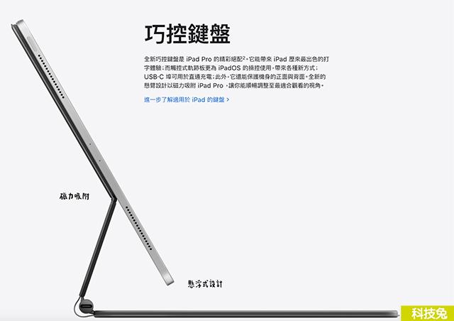 蘋果iPad Magic Keyboard 巧控鍵盤