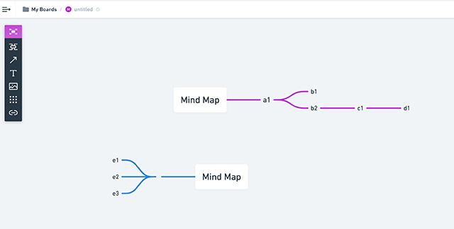 Whimsical心智圖工具