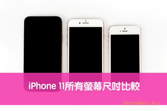 iPhone 11 尺寸