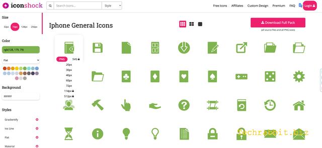 Iconshock 百萬個免費圖示下載