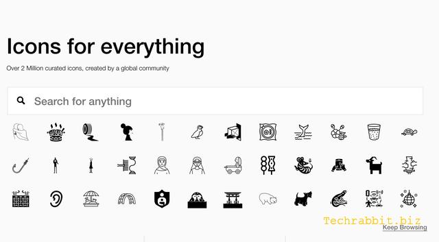 The Noun Project 高品質CC授權圖示免費下載