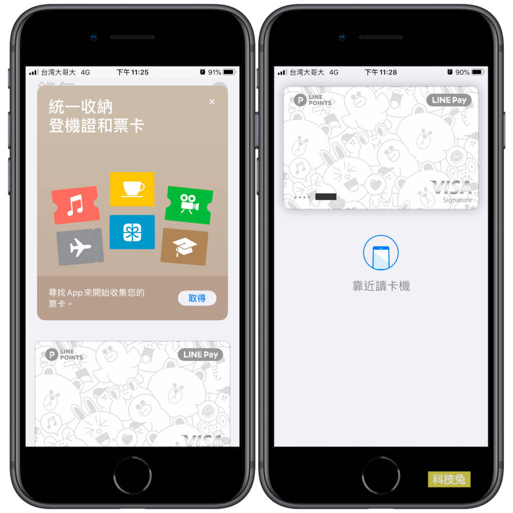 Apple Pay 錢包