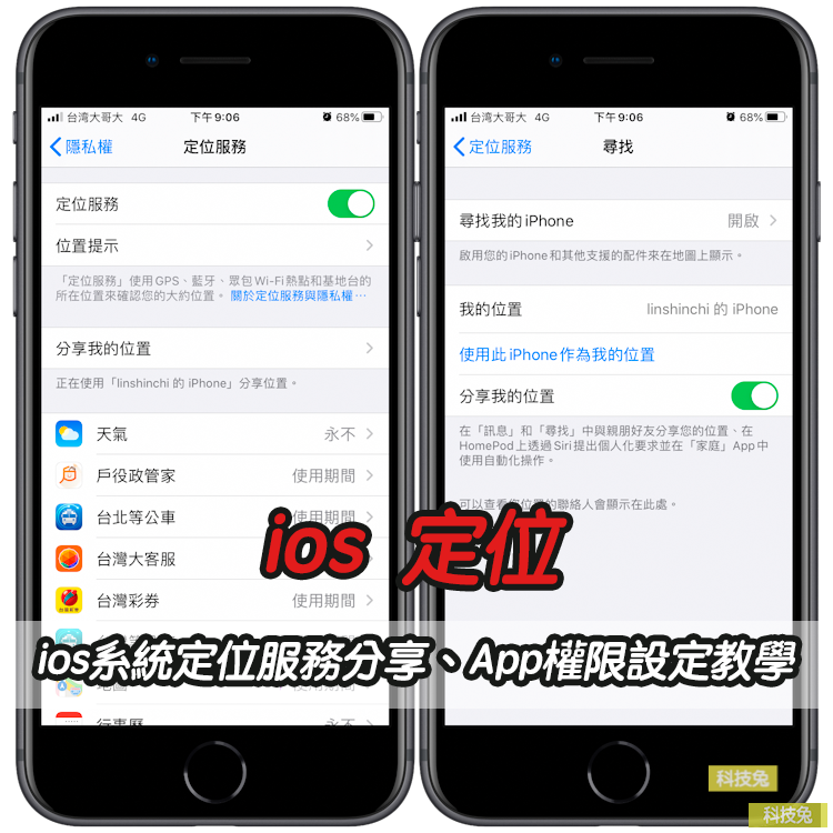 iOS 定位