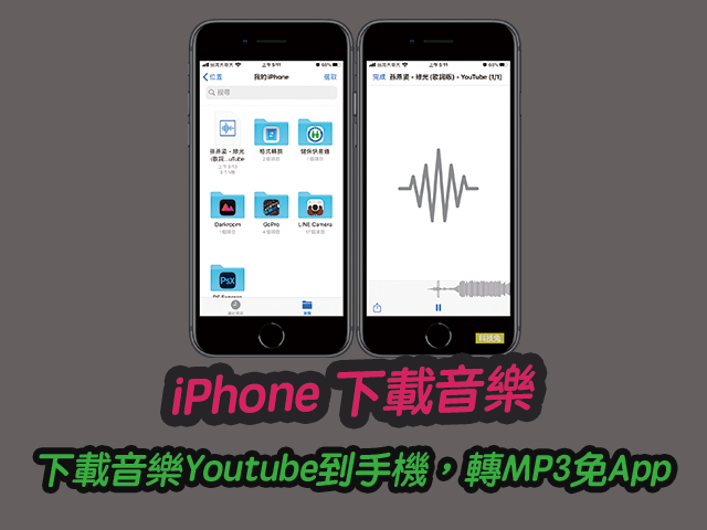 iPhone 下載音樂Youtube到手機