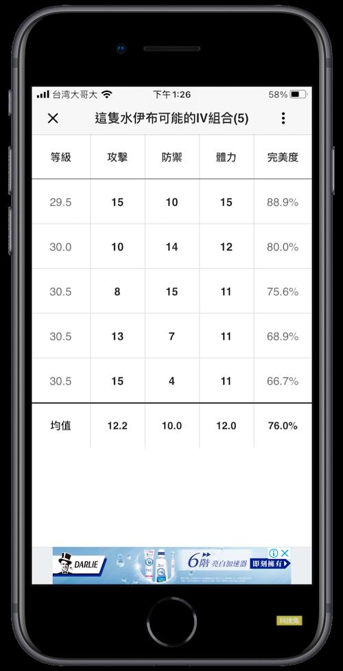 Poke Genie 寶可夢IV App