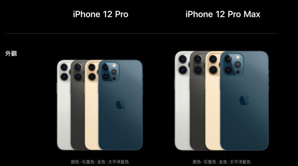 iPhone 12 外觀顏色