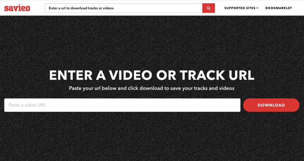 Savieo:Youtube 影片下載器,可轉成MP4/MP3