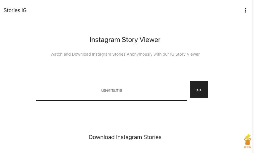 IG Story 下載器一、Stories IG