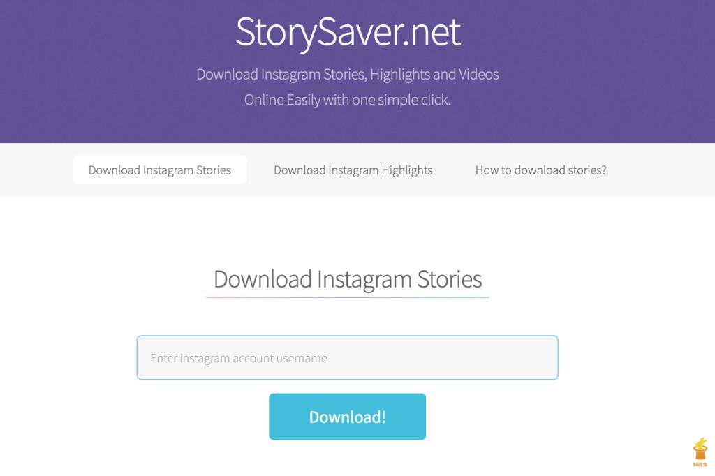 IG Story 下載器二、StorySaver