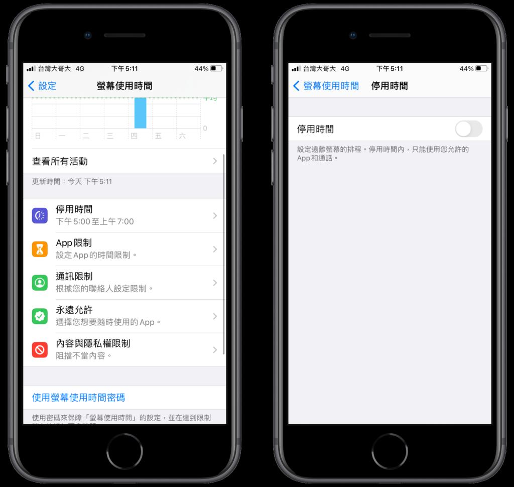 取消、停用 iPhone 螢幕使用時間密碼功能