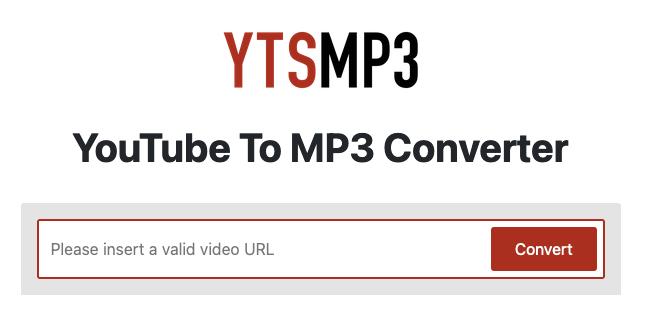 前往 YTSmp3 官方網站